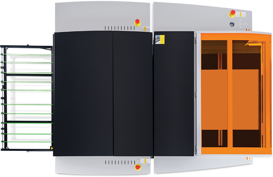TP36 G+ model shown with modular SCL autoloader add-on